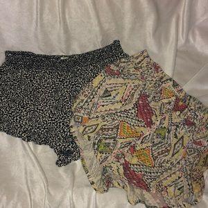 Volcom and Billabong shorts